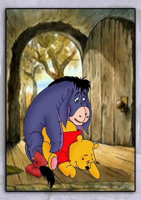 nasty pooh winnie jack the Tarot witch of the black rose