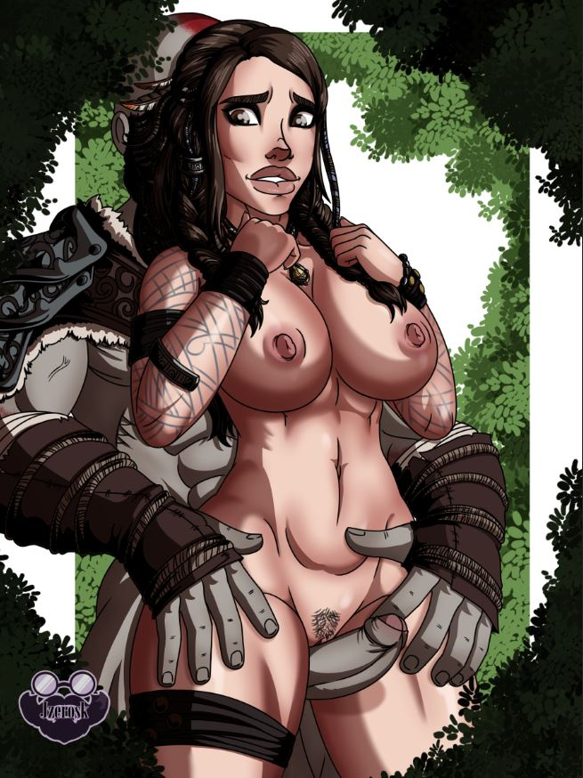 ruin isabella advance days wars of Embarrassed naked girl in public