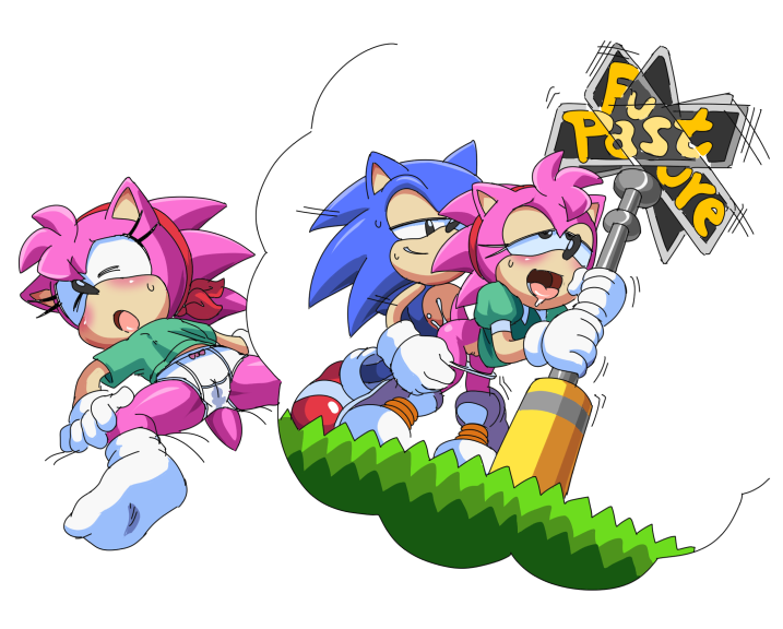 adventures sonic katella hedgehog the of E621 all the way through