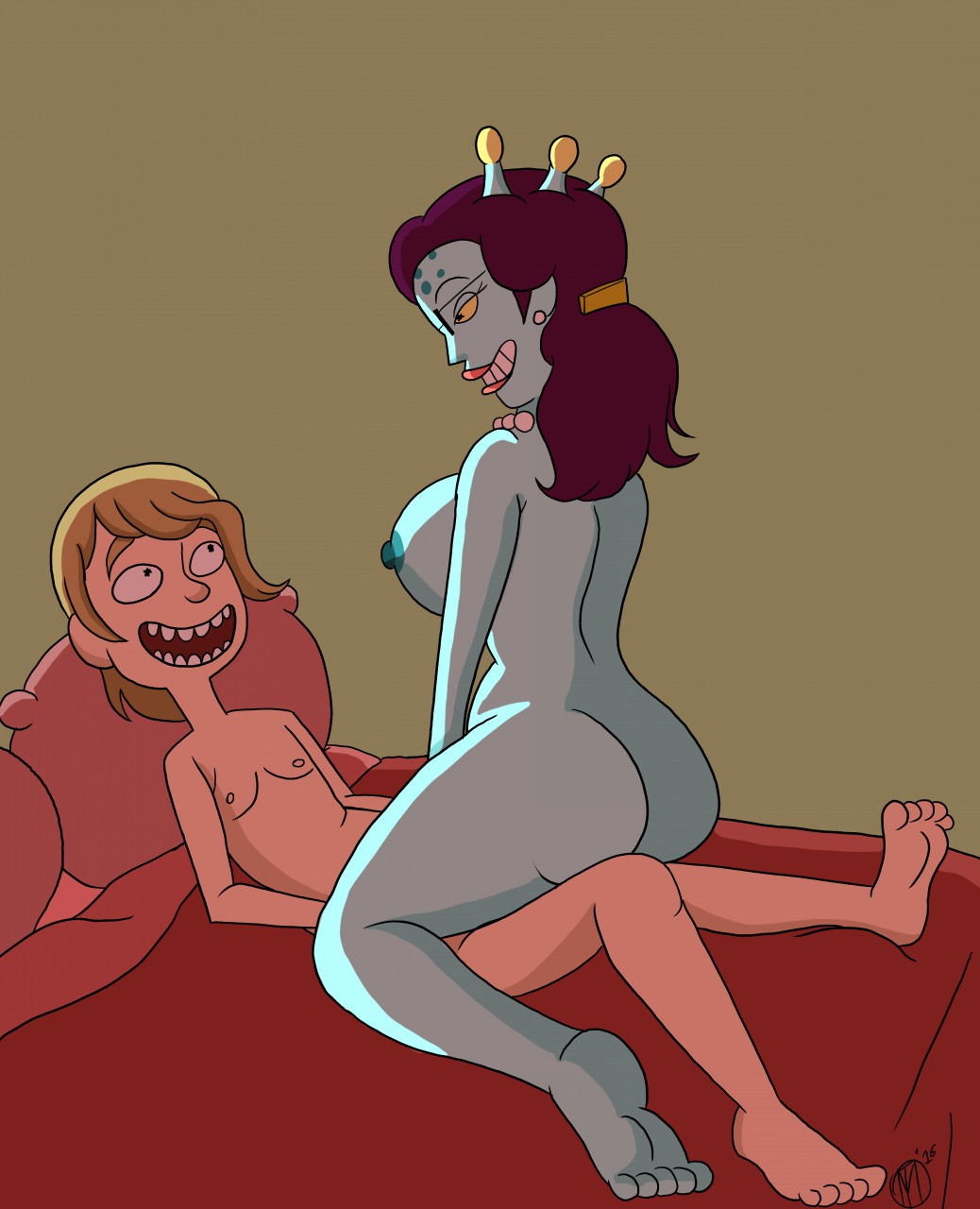 porn rick summers and morty Rules of the internet genderbend