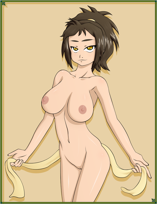 airbender last avatar izumi the Kally trials in tainted space