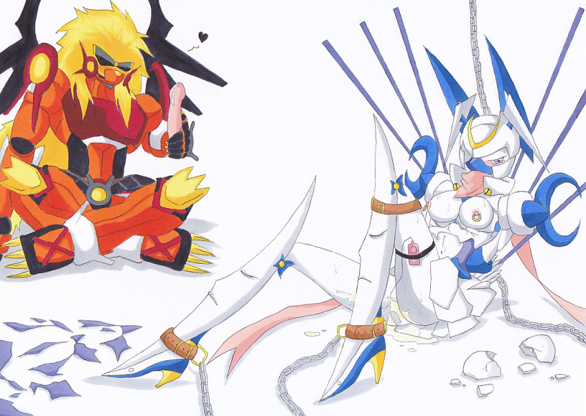 story mastemon cyber digimon sleuth Fortune metal gear solid 2