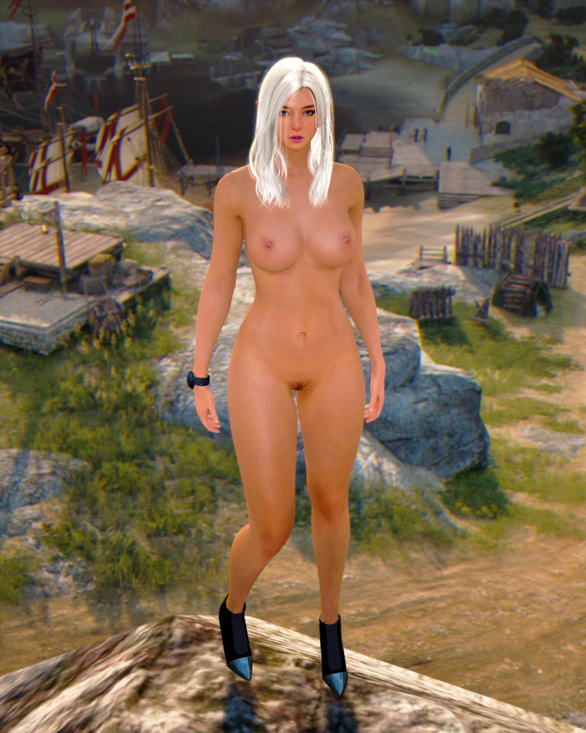 black edit desert online pose Gretchen from phineas and ferb
