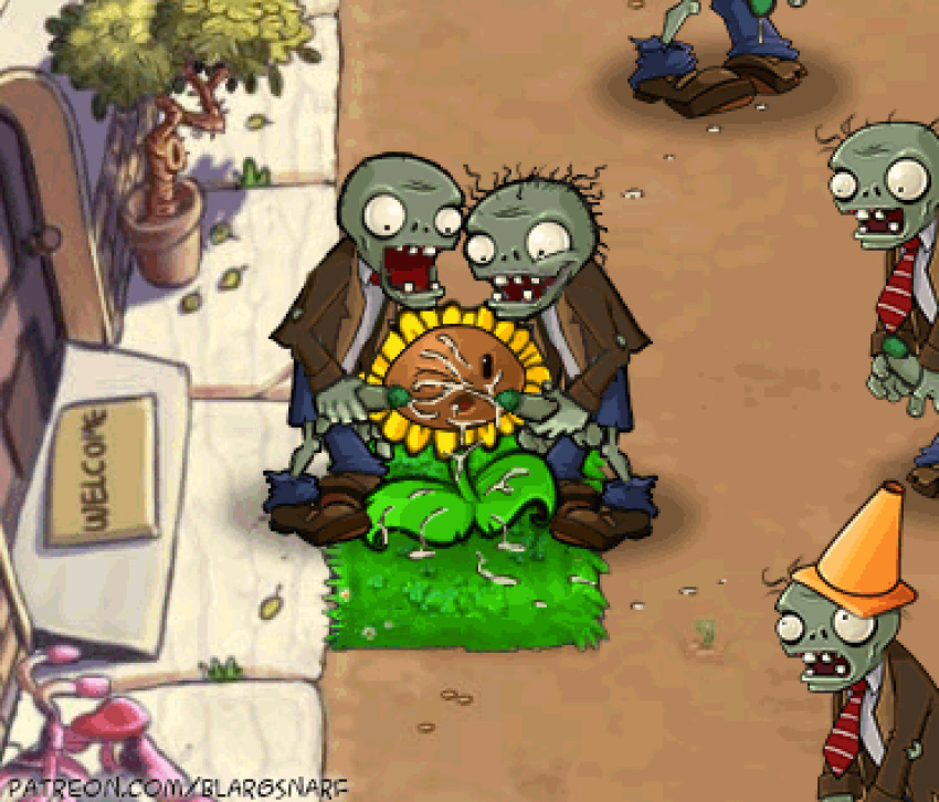 vs plants zombies ghost pepper Animated porn pics