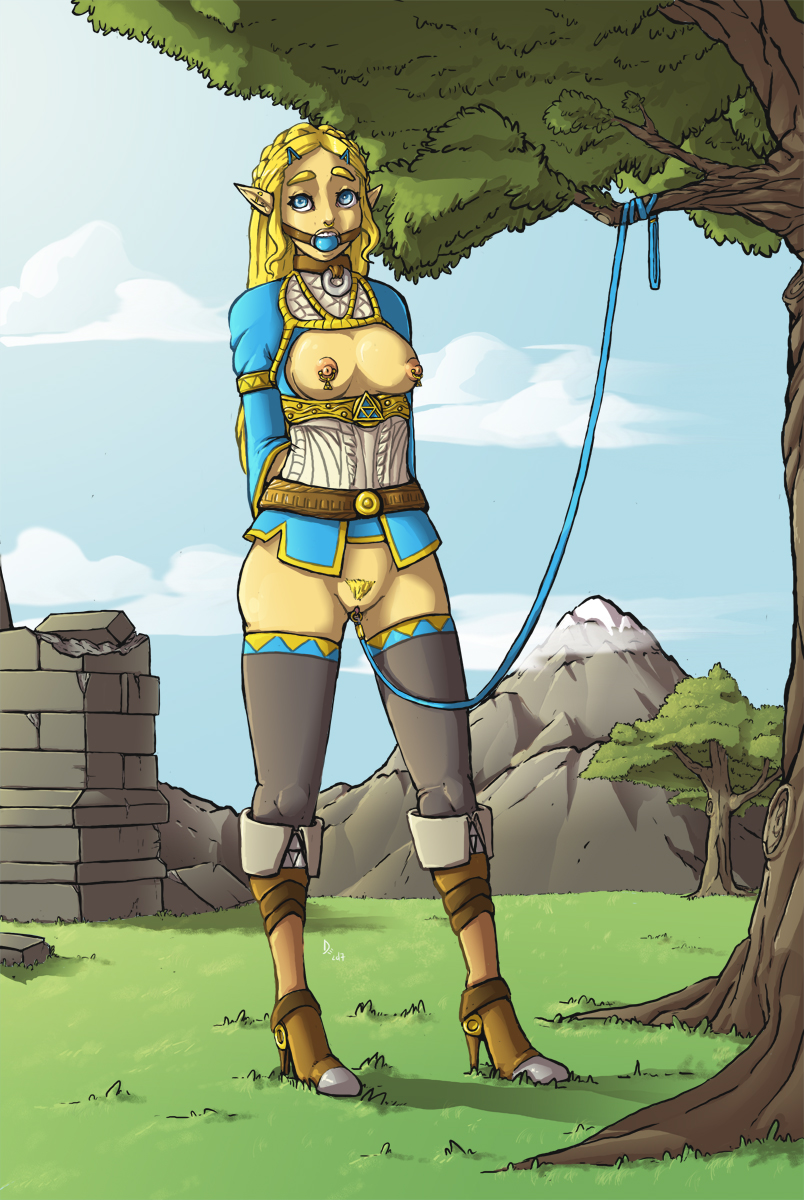 breath the wild moza of Fallout vault girl